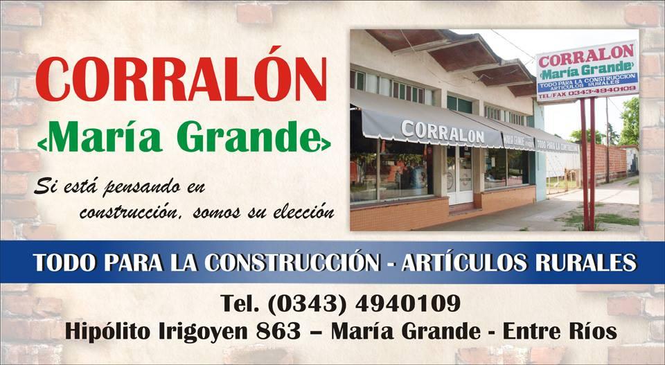 Corralón María Grande